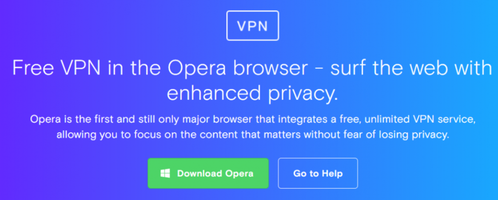 Free and Unlimited VPN